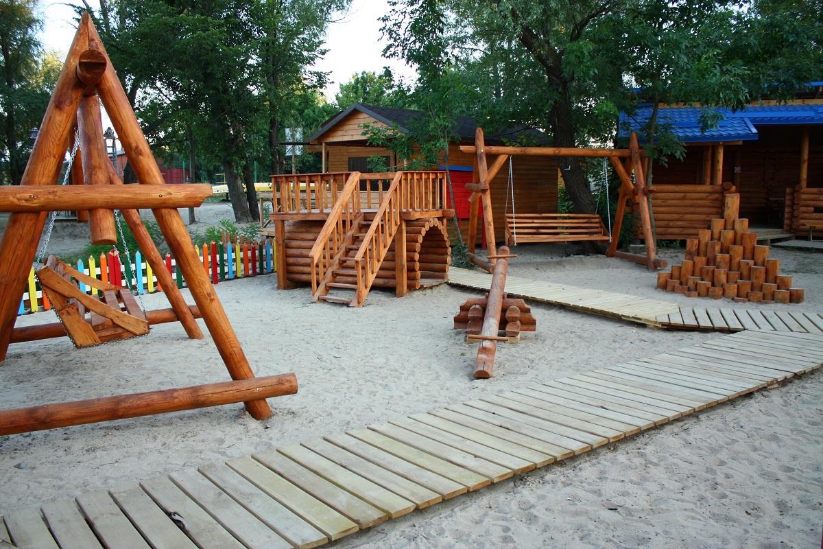 детская площадка в Xpark
