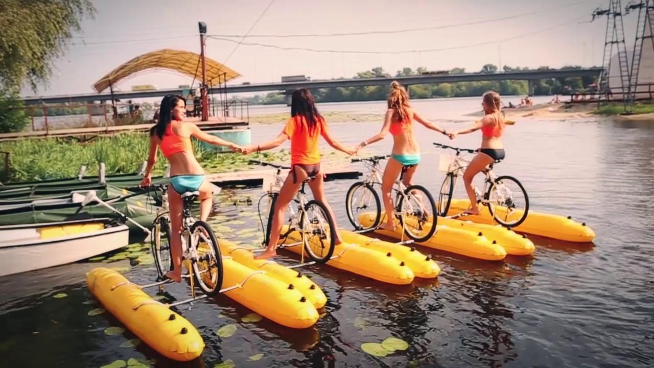 водные велосипеды в киеве